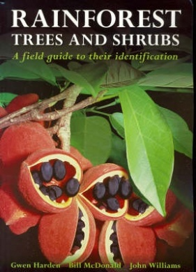 Rainforest Trees and Shrubs Book Cover