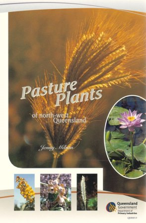 Pasture Plants of North-west Queensland Book Cover