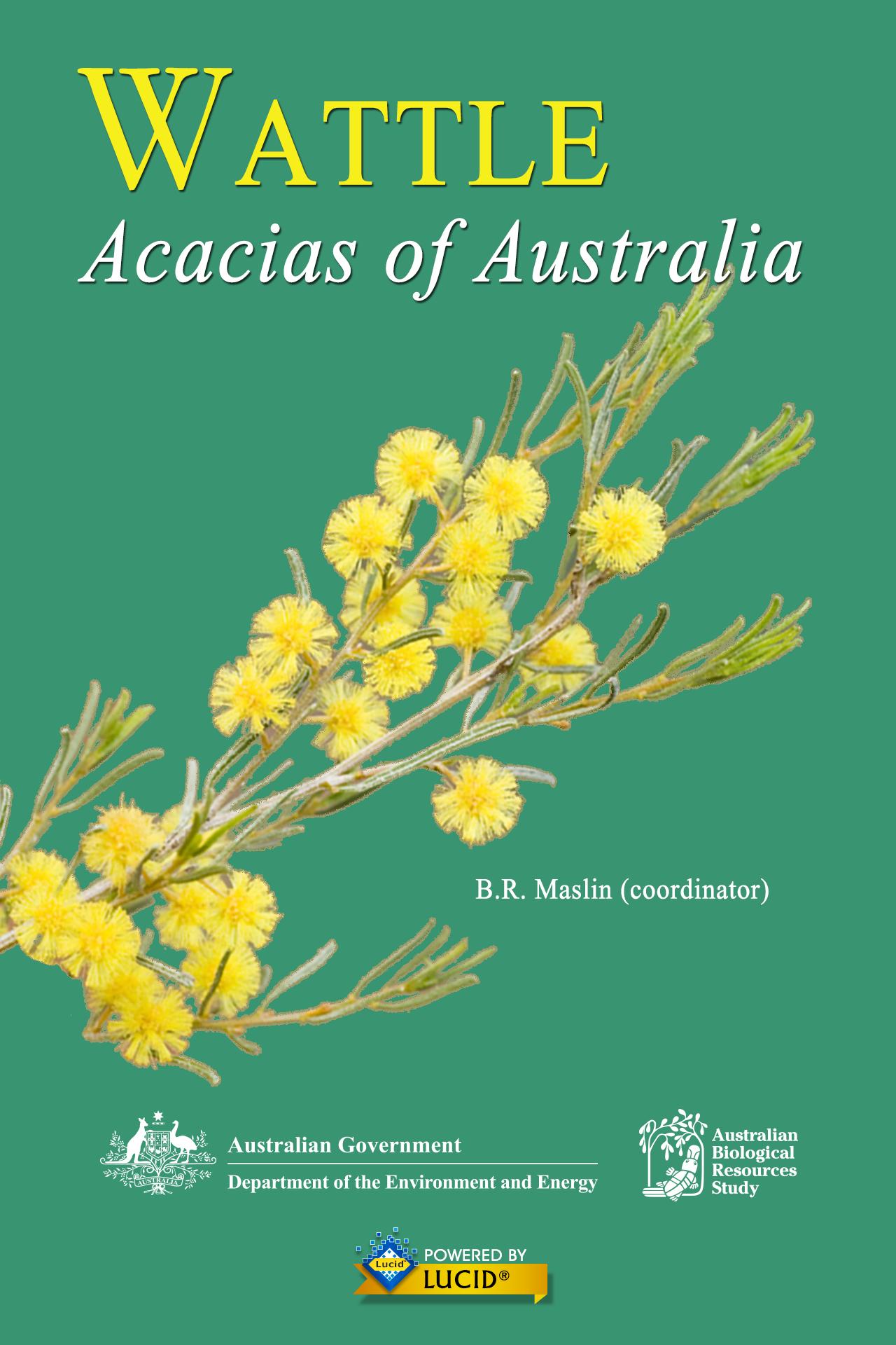 WATTLE Acacias of Australia 3 Book Cover