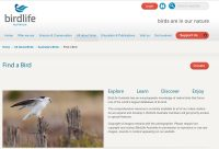 Find a bird -- Birdlife Australia