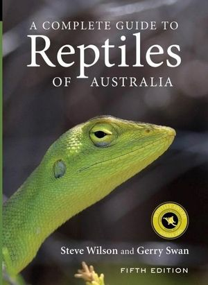 A Complete Guide to Reptiles of Australia Book Cover