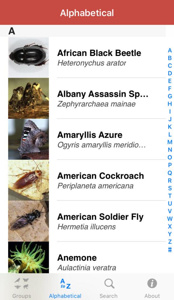 Field Guide to Western Australian Fauna app