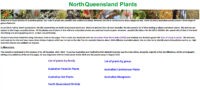 North Queensland Plants website