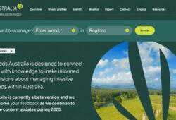 Weeds Australia website