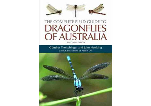 The Complete Field Guide to Dragonflies of Australia Book Cover