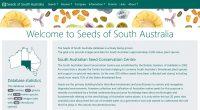 Seeds of South Australia website